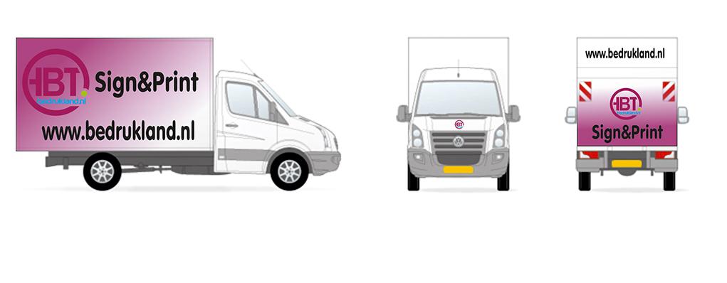 bakwagen design - AUTORECLAME