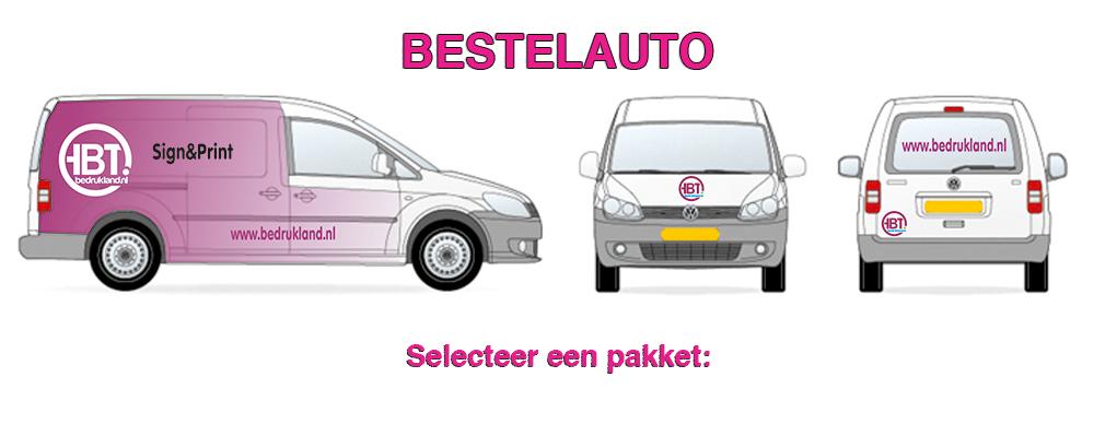 bestelauto design banner - AUTORECLAME